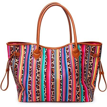 fabric tote beach bag yarn tote fabric purse Brown Print Purse