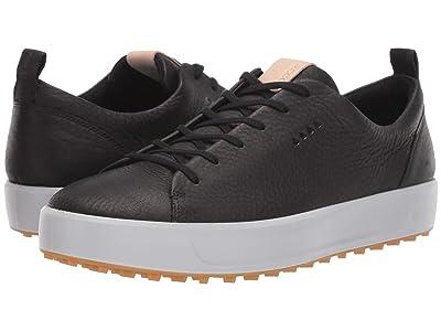 ECCO Golf Soft Low Hydromax(r) (Black) Men