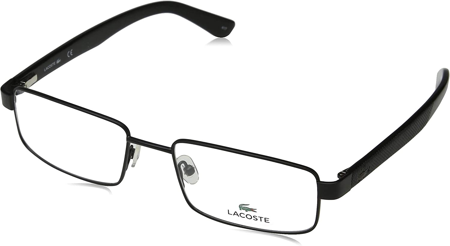 Eyeglasses National products LACOSTE L 2238 Black 002 Matte Tulsa Mall