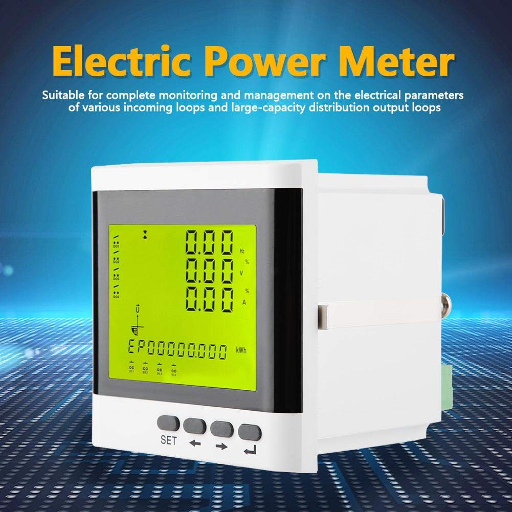 Programmable Electric Meter Voltmeter Sales of SALE items from new works Monitor Amm 5 ☆ popular Digital Energy