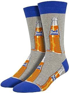 Socksmith Men`s Vintage Fanta Crew Socks