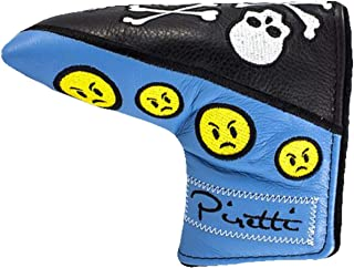 Piretti(ピレッティ) Accessories Tour Only Skull and Crossbones Putter Cover パターカバー ユニセックス Tour Only Putter Cover Black Blue Green
