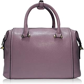 Runhuayou New Fashion Elementary Multi-Function Prominent Capacity Shoulder Bag Shoulder Slung Leather Handbag Great for Casual or Many Other Occasions Such (Color : Pink)