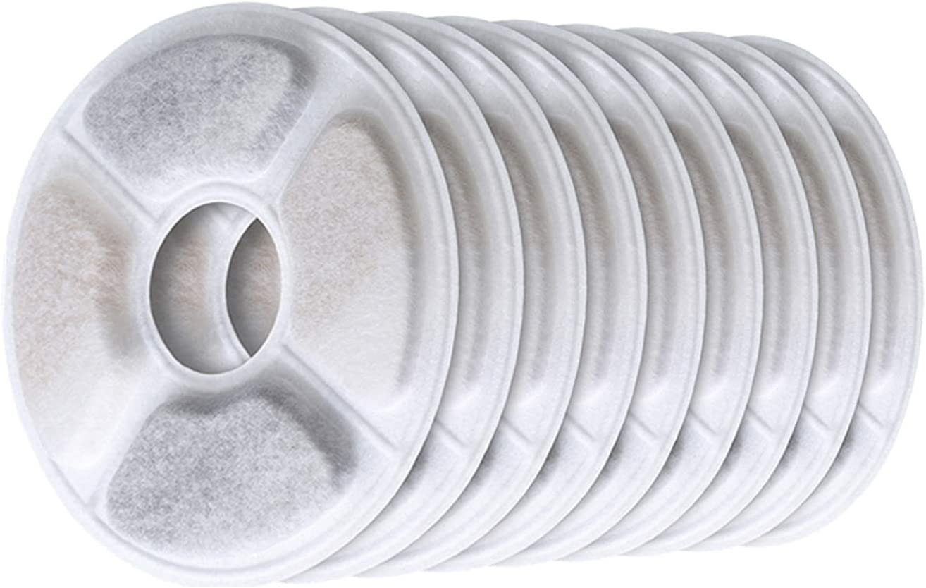 TUOWS Cat Water Fountain Replacement Filters Filter Dog New Shipping Austin Mall Free