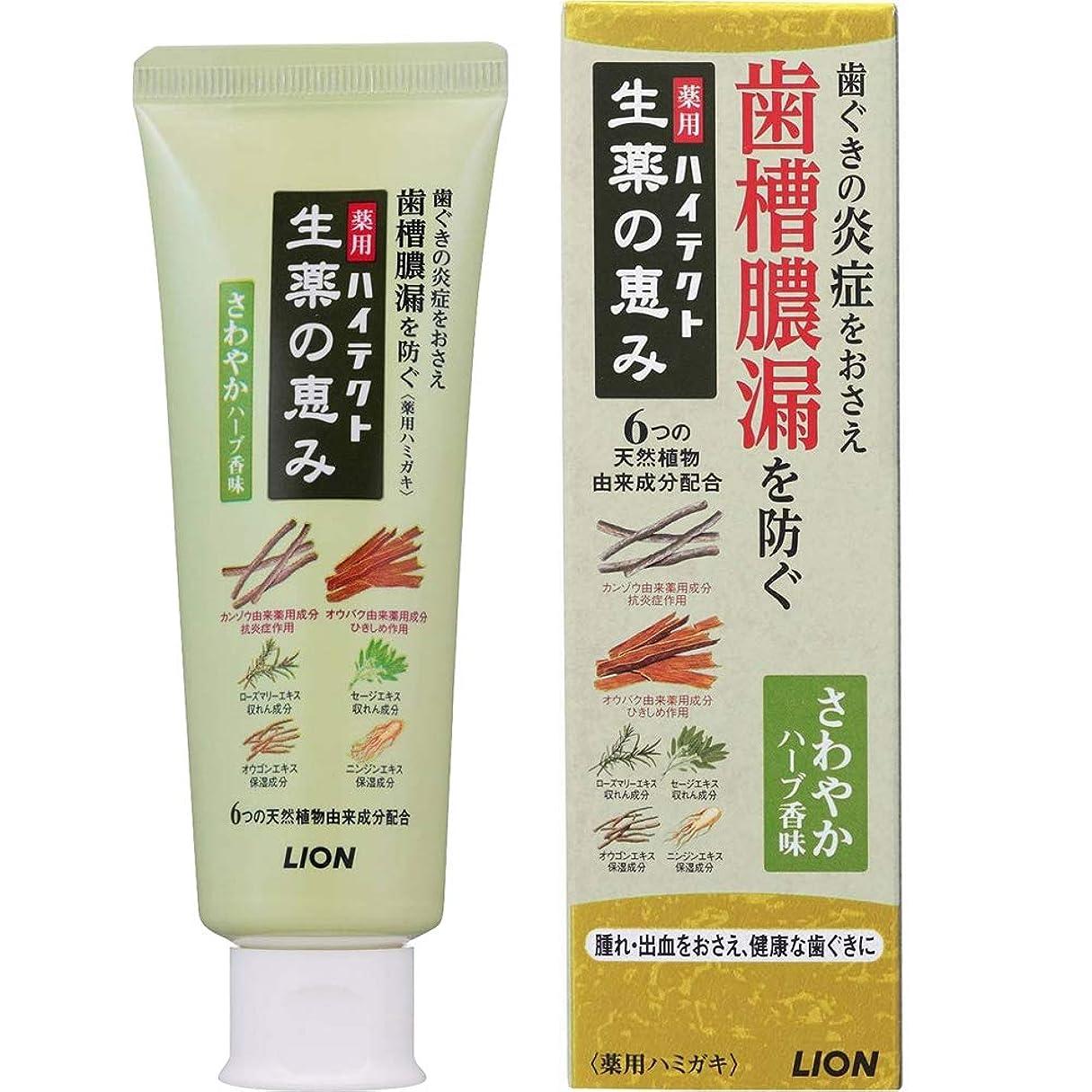 スパン鉄不可能な薬用ハイテクト生薬の恵み さわやかハーブ香味 90g