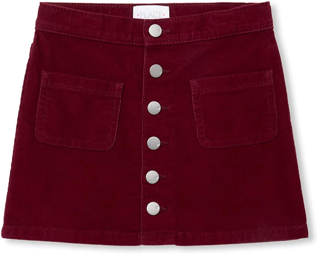 The Childrens Place Big Girls Cordoroy Skirt