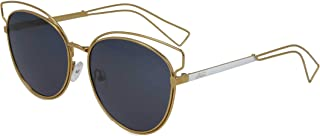 Retro Polarized Sunglasses for Women Re209C1, Gold - Size 16-145, Oval
