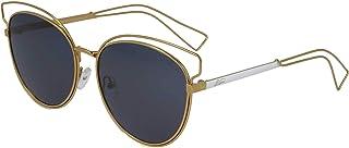 ريترو نظارة شمسية للنساء Re209C1، ذهبي - مقاس 16-145، بيضوي