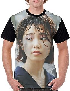 メンズ 島崎 遥香 しまざき はるか4 Tシャツメンズ 半袖 吸水速乾 プリント 半袖のTシャツ はワンマンデザインのTシャツ 肌着 夏服 人気 快適 軽い 柔らかい インナーシャツ おしゃれ シャツ ゆったり 下着