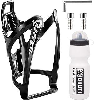 Kohlefaser Fahrrad Wasserflasche Halter Trinkflaschenhalter Getränkehalter Neu