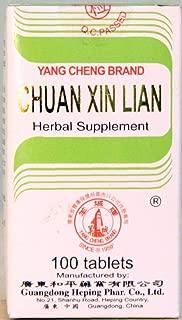 Chuan Xin Lian - 100 tablets,(Solstice)
