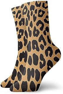 Dydan Tne, Calcetines de Estampado de Leopardo de Animales Divertidos Divertidos para niños y niñas