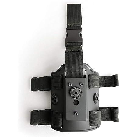 SHENKEL サファリランドタイプ 579 GLS用 レッグプラットフォーム ダブルストラップ Gen2 角度調整 BK 黒 ホルスター ハンドガン サバゲー