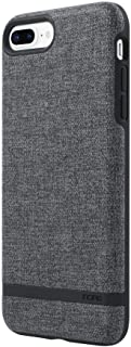 Incipio Carnaby iPhone 8 Plus & iPhone 7 Plus Case [Esquire Series] with Co-Molded Design and Ultra-Soft Cotton Finish for iPhone 8 Plus & iPhone 7 Plus - Gray