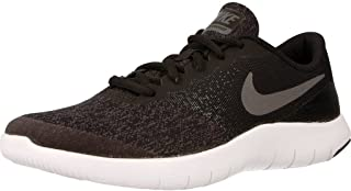 Nike 917932-002: Flex Contact Black/Dark Grey Sneakers (4 M US Big Kid)