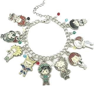 My Hero Academia Fashion Novelty Charm Bracelet Anime Manga Series with Gift Box