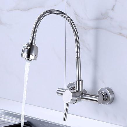 acero inoxidable 304 agua fría y caliente Grifo lavabo grifo Sursy Cuenca sin plomo