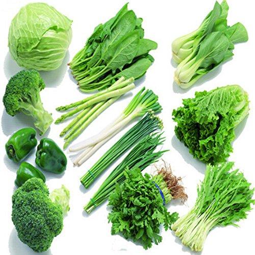 Mixed 200 graines / sac balcon semences de légumes paquets saisons de semis d'expédition envoyé jardin de la cour