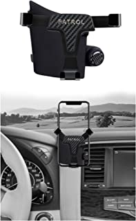 Car phone holder With balm essence dedicated to Nissan Patrol Y62 2013-2019 year gravity holder stable car communication h...