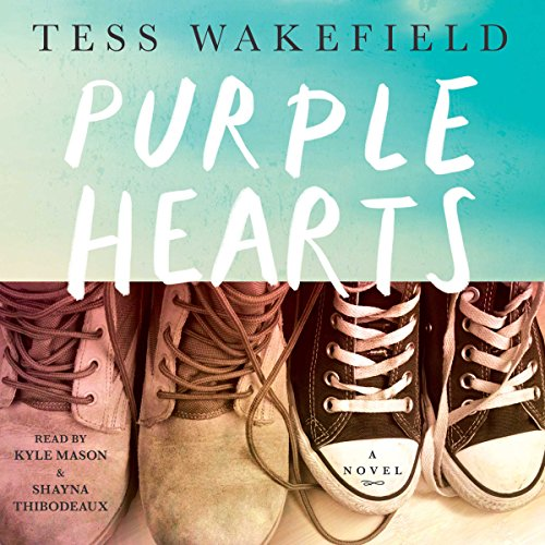 Purple Hearts audiobook cover art