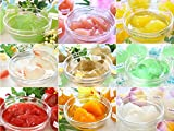 果樹園 ゼリー (ケーキ 屋さんの 濃厚 本格 フルーツゼリー) (ギフト 用/ 10個 詰め合わせ)
