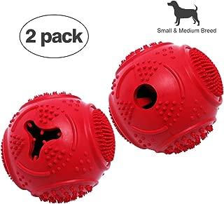 VANFINE Ball Dog Toy - Dog Ball - Jolly Ball for Dogs - Set of 2 Dog Toys Balls - Medium 2.8