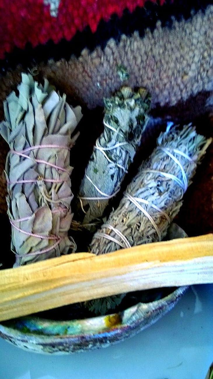 適度にこんにちは取得するExhale Variety smudge stick pack