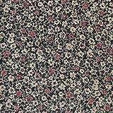 kawenSTOFFE Chiffonstoff Blumenblüten klein Blusenstoff Blossom Meterware