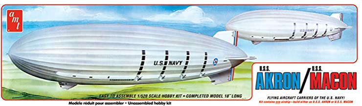 AMT 1:520 Scale USS Akron/USS Macon Model Kit