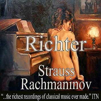 Richter - Rachmaninov, Strauss