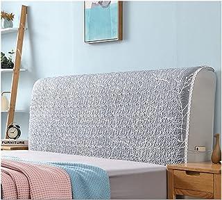 HDGZ Funda Protectora para Cabecero De Cama Tela Lado De La Cubierta A Prueba Polvo Lavable para La Decoración del Dormitorio (Color : K, Size : 150cm)