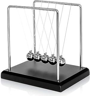 Tian 60 Secondes Balançoire Balancier Pendule de Newton Grande Jeux Scientifiques pour Enfant 18*12*18cm (L*W*H)