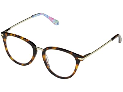 Lilly Pulitzer Bikini (Dark Tortoise) Reading Glasses Sunglasses