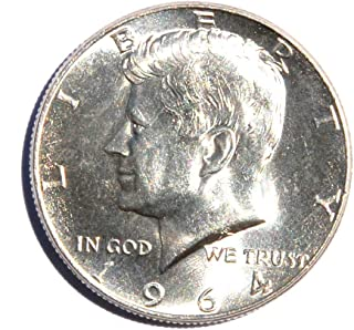 1964 United States of America Kennedy Half Dollar (Silver 90%) #13 Coin Very Good Details