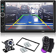 CarThree Double Din Touch Screen Car Stereo 7 Inch LCD Car Radio Touchscreen Bluetooth with Rear View Camera Tape,MP5 Player, USB, SD Card, AUX Input,FM for SUV Car