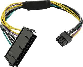 كابل محول إمداد الطاقة لونجديكس 24 دبوس إلى 8 دبوس 18AWG ATX PSU للوحة الأم
