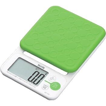 タニタ クッキングスケール デジタル 2kg 0.1g グリーン KD-192 GR お菓子づくりにおすすめ