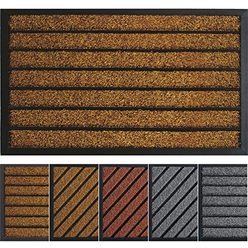 Extra Durable Door Mat Outdoors (30x18) - Rubber Door Mat - Absorbent Doormat Outdoor - Front Door Mat - Back Door Mat - Doormat Indoor - Inside Door Mats - Entrance Door Mat - Outdoor Door Mat