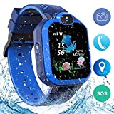 Kinder SmartWatch Phone Smartwatches mit SOS Voice Chat Kamera Taschenlampe Wecker Digitale Armbanduhr Smartwatch Girls Boys Birthday