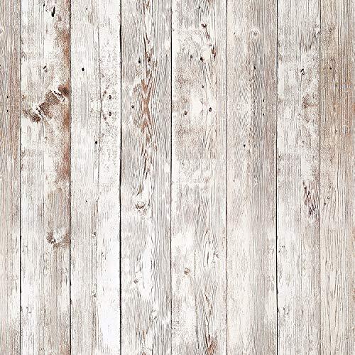 Livelynine 45CMX7M Papel Pintado Pared Dormitorio Madera Friso Para Pared PVC Papel Para Pared Habitacion Vinilos Decorativos Revestimiento de Paredes Friso Madera Vinilo Adhesivo Pared Autoadhesivo