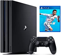 PlayStation Pro 1TB Bundle with FIFA 19 and DUALSHOCK 4