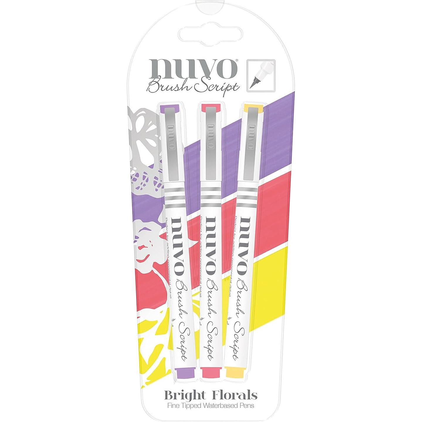 No Tools Rain Saving Device Tonic Studios Nuvo Brush Script Pens, Multicolored, 21.59 x 8.89 x 0.96 cm