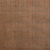 Samtjersey Glencheck – braun — Meterware ab 0,5m —