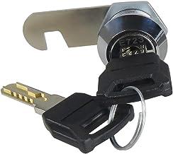 HOMYL 19mm Letter Box Lock File Drawer Locker Cylinder Lock Tongue with Keys -, 20mm