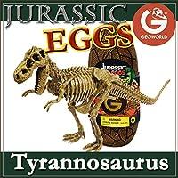 ジオワールド社 恐竜フィギュア ジュラシックエッグ 恐竜組立キット ティラノサウルス