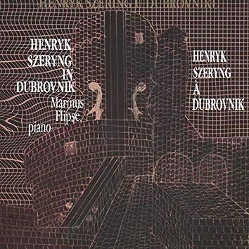 Henryk Szcryng, Violina