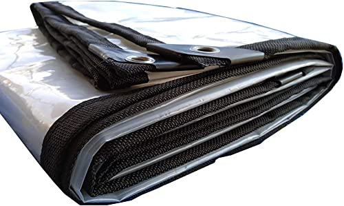 XJLG-Bache Tissu imperméable Bache de Camping en Plein air avec bache imperméable Transparente avec revêteHommest de Sol perforé Tente de Camping en Plein air