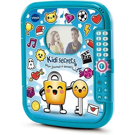 VTech - KidiSecrets - Mon Journal à Secrets Bleu – Journal intime avec Code / 6-12 Ans – Version FR