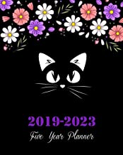 2019-2023 Five Year Planner: Pretty Cat Cover, 8