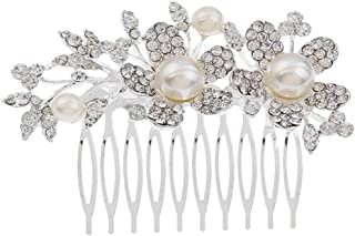 Or, Argent Brooch OIBHFO Strass Complet Cinq Broches Opale de Fleurs pour Femmes v/êtements Vintage d/écoration Bijoux Broches en Cristal Broches